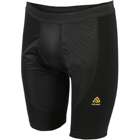 Aclima WarmWool Shorts Men with Windstop Jet Black